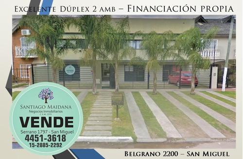 Imagen 1 de 14 de Venta Duplex En San Miguel  - Apto Credito / Financiación