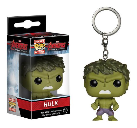 Llavero Funko Pop Hulk Pelicula Avengers Muñeco Juguete