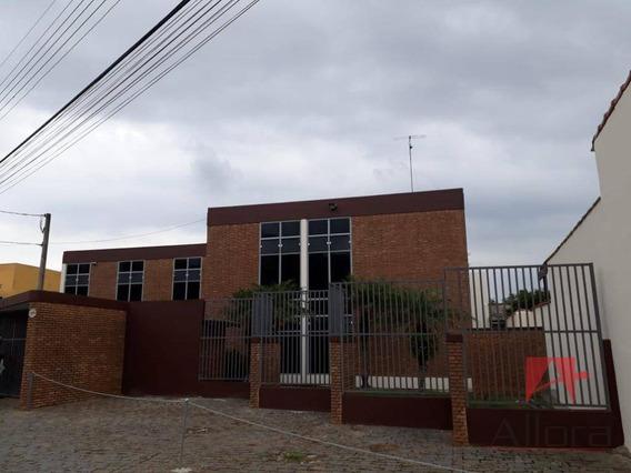 Galpão Comercial Para Venda E Locação, Jardim Brasil, Atibaia. - Ga0084
