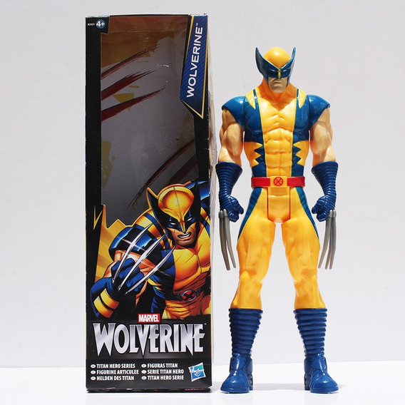 Promoção Boneco Wolverine Logan X-men 30cm Action Figure