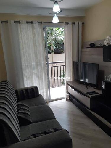 Apartamento Com 2 Dormitórios À Venda, 55 M² Por R$ 286.200,00 - Vila Augusta - Guarulhos/sp - Ap3007
