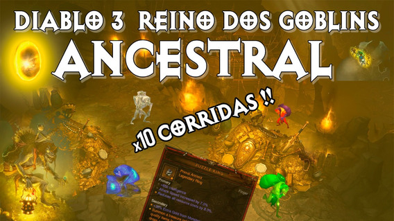 Diablo 3 Season 21 - Reino Goblin 10 Aneis Enigma Ancestrais