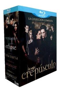 Crepusculo Twilight La Saga Completa 5 Peliculas Blu-ray
