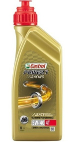 Oleo Castrol Power 1 Racing 4t 5w40 1l 100% Sintético Trizon