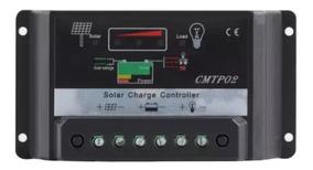 Controlador Solar Carga Pwm Lcd 30a
