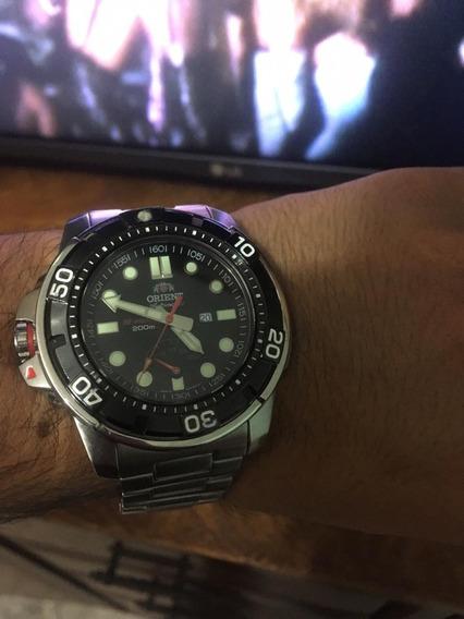 Relógio Orient M-force Automático Original - Safira