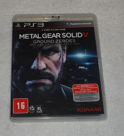 Metal Gear Solid V Ps3 Legendas Portugues * Frete Gratis