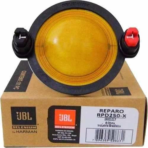 Kit 2 Reparos Driver Jbl Selenium D250x Original D250 X