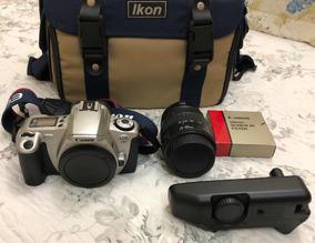 Câmera Fotográfica Manual (filme) Canon Eos 300 Kit Com