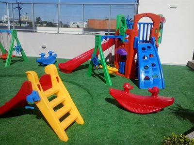 San Lorenzo Residencial Club Reformado 2 Qts Lazer Completo