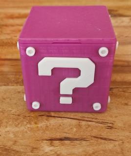 Cubo Portajuegos Nintendo Switch. Impresion 3d