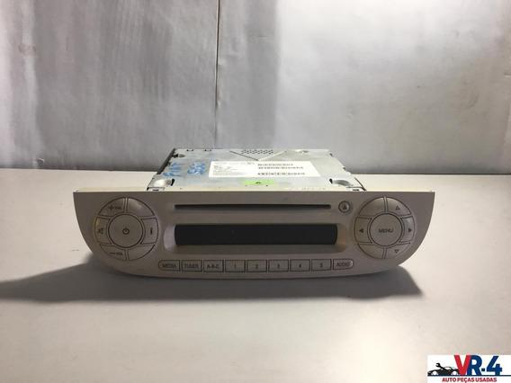 Radio/ Som Original Fiat 500 Usado