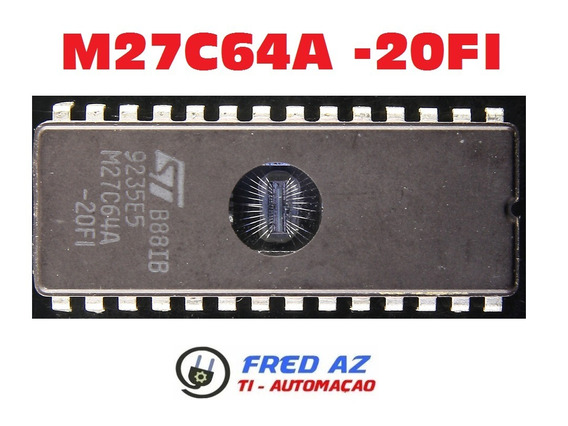 Mémoria Eprom M27c64a-20f