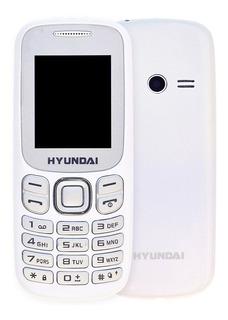 Celular Dual Chip Ek208 Branco - Hyundai