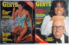8 Revistas Fatos E Fotos - Entre Os Anos De 1978 A 1984
