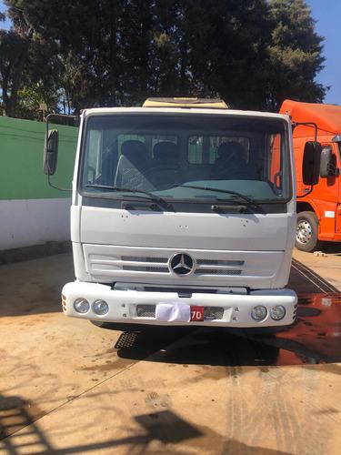 Imagem 1 de 12 de Caminhão Mercedes-benz 712 C 3/4 2002 Toco 4x2