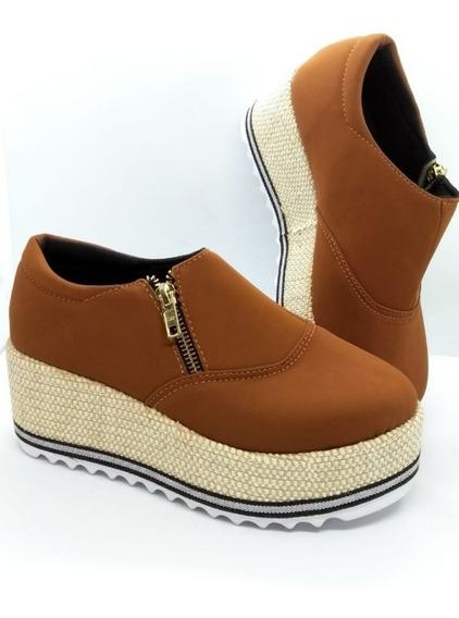 Sapato De Ziper Mickael Jhons