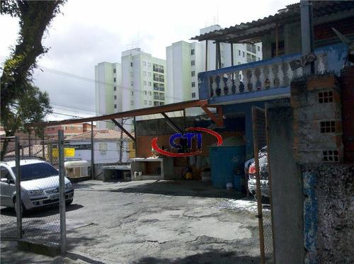 Terreno  Residencial À Venda, Bairro Assunção, São Bernardo Do Campo. - Te0002
