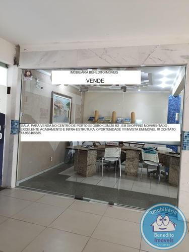 Sala Para Venda Em Shopping Em Porto Seguro Bahia R$45.000,00 - 1938