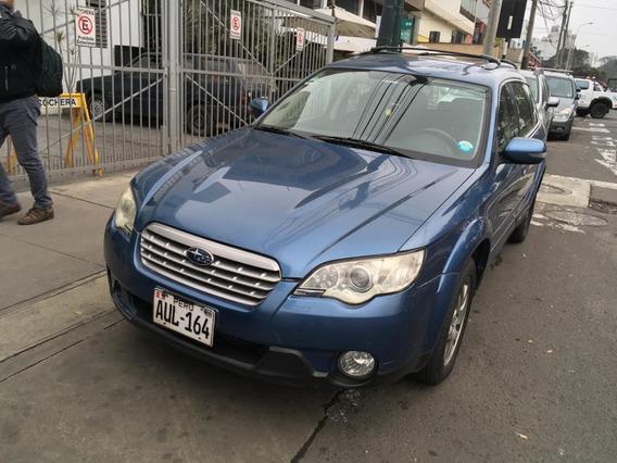 Vendo Subaru Outback 2007 Con Glp 2017
