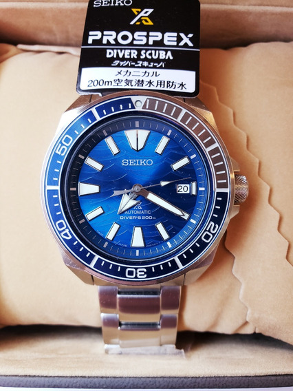 Seiko Samurai Save The Ocean Special Edition Sbdy029 *jdm