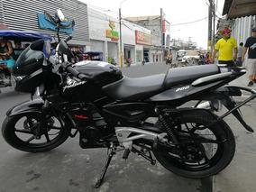 Moto Pulsar 200 Negro. Solo 6,041 Km Recorrido.