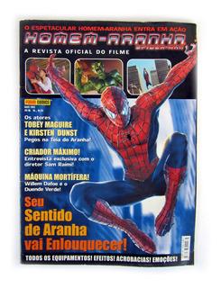 Revista Oficial Do Filme Homem Aranha Maio 2002