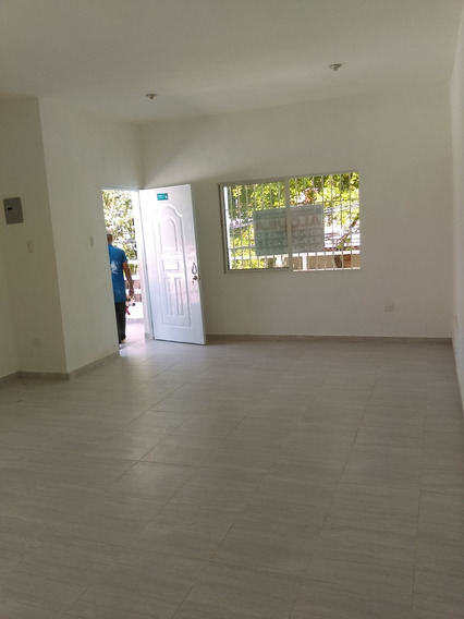 Alquiler Local Comercial En Gascue. 2do Piso
