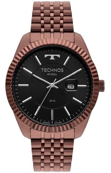 Relógio Technos Riviera Masculino 2115msw/4p Marrom