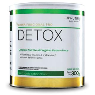 Detox (suco Verde - Sabor Abacaxi) - 300g - Upnutri