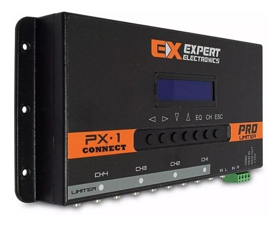 Processador Banda Expert Px1 Conect 4 Ch Px-1 Equalizador