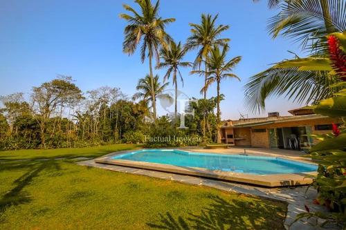 Casa Com 5 Dormitórios À Venda, 518 M² Por R$ 1.500.000,00 - Balneário Praia Do Pernambuco - Guarujá/sp - Ca2402