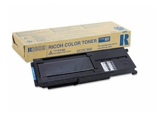 Toner Ciano Tipo M1 Ricoh A1232 A1224 - 885320