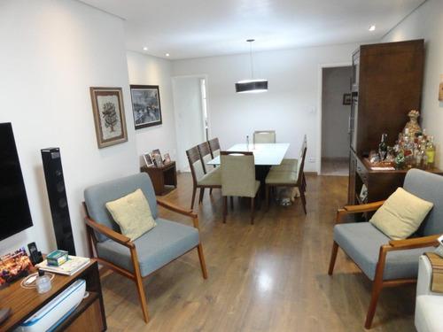 Apartamento Com 2 Dormitórios À Venda, 112 M² Por R$ 550.000,00 - Gonzaga - Santos/sp - Ap5736