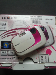 Camera Digital Fujifilm Finepix Z30 Rosa Com Branco