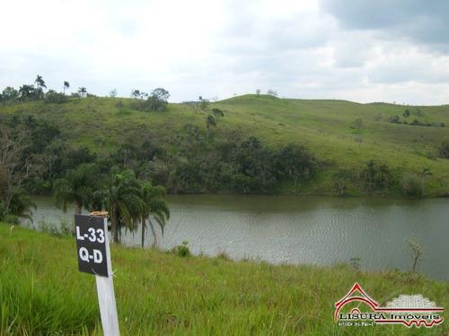 Terreno Em Condomínio De 1084 M² No Lago Dourado Jacareí Sp - 7669