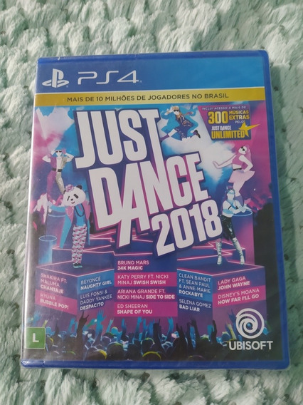 Jogo Ps4 Just Dance 2018