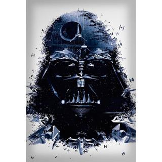 Placa - Decorativa - Grande - Star Wars - Filme - (gv124)
