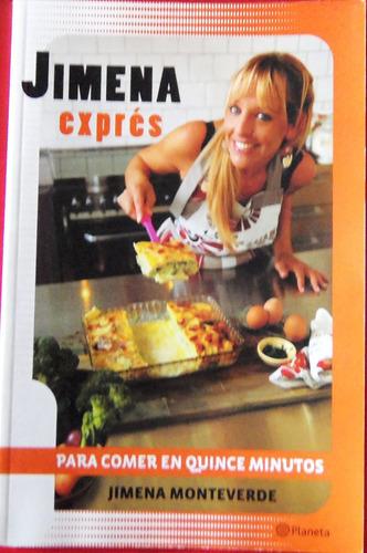 Jimena,exprés,recet,15m´,+revistas De Cocina