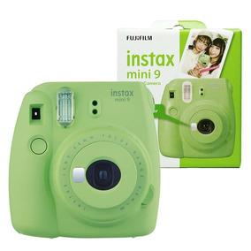 Câmera Instantânea Instax Mini 9 Fujifilm - Verde Lima