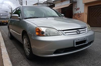 Honda Civic Lx 1.7 Autom. + Couro
