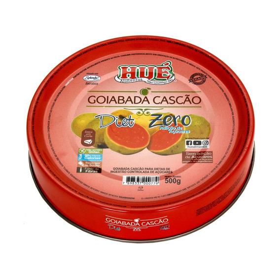 Goiabada Cascão Diet Hué Lata Sem Glúten Vegano Lata 500g