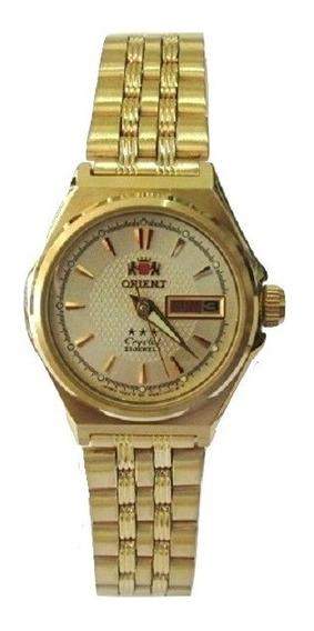 Relógio Orient Automático Feminino Fnq1s001c9 Promoção