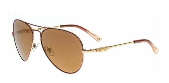 Oculos Solar Colcci 500996408 Dourado Lente Marrom