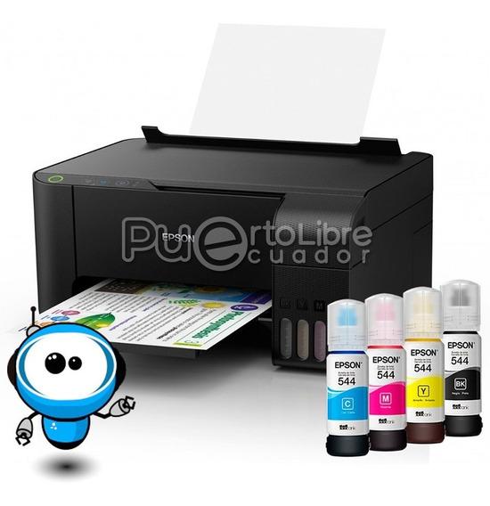 Potente Impresora Epson L3110 Scaner Tinta Continua Original
