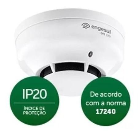 Detector De Fumaça Endereçável Intelbras Dfe 320 Ip20