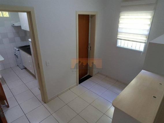 Kitnet Com 1 Dormitório Para Alugar, 30 M² Por R$ 1.900,00/mês - Cidade Universitária - Campinas/sp - Kn0078