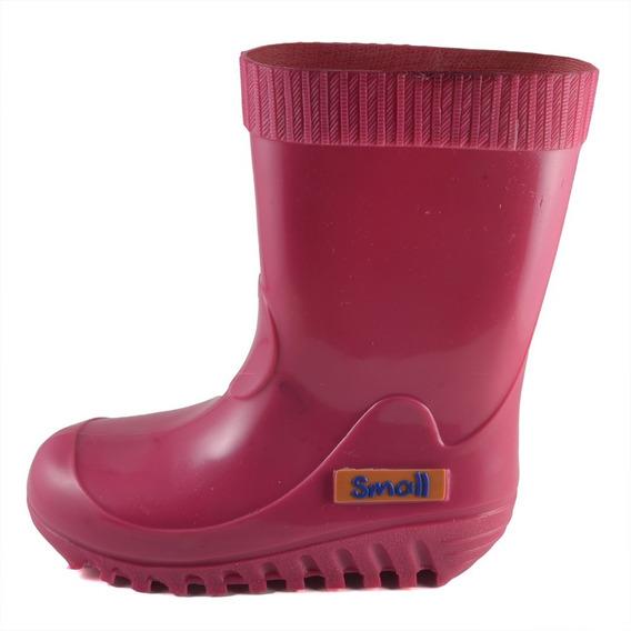 Bota Lluvia Small Shoes Fucsia