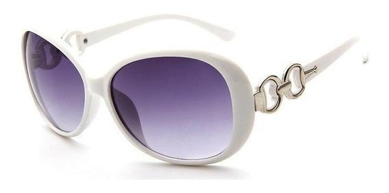 Óculos De Sol Fashion Vintage Feminino Lentes Grandes