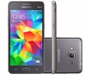 Smartphone Samsung Galaxy Gran Prime Duos 8gb - Cinza Dual C